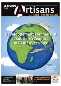 Une du Monde des Artisans 101 Edition du Pas-de-Calais