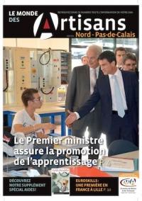 Une du Monde des Artisans 102 Edition du Pas-de-Calais