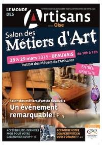 Une du Monde des Artisans 105 Edition de l'Oise
