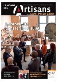 Une du Monde des Artisans 105 Edition du Pas-de-Calais