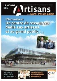 Une du Monde des Artisans 107 Edition du Pas-de-Calais