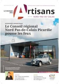 Une du Monde des Artisans 110 édition Nord-Pas-de-Calais (Nord - 59)