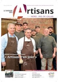 Une du Monde des Artisans 111 Edition Pas-de-Calais