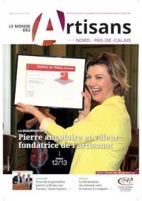 Une du Monde des Artisans 113 Edition du Pas-de-Calais