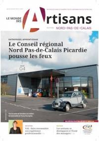 Une du Monde des Artisans 110 Edition Pas-de-Calais