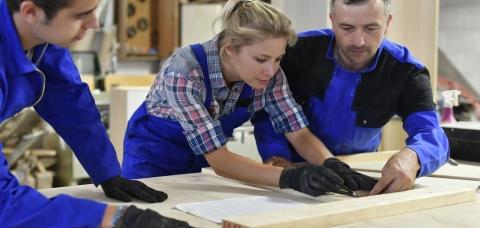 Apprentis TPE artisanale