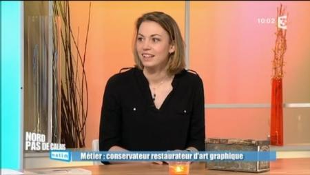 Marion Herbaux, conservation et restauration Arts Graphiques